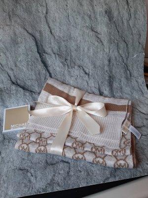 Michael Kors Gebreide sjaal room-beige