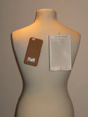 Michael Kors Carcasa para teléfono móvil marrón claro