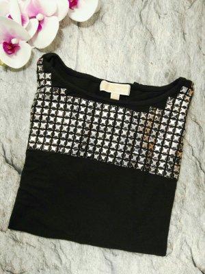Michael Kors Shirt zwart-zilver