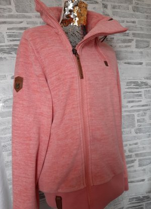 Orginal  Naketano  Fleecejacke, rose' -meliert, Gr L, NEU!!