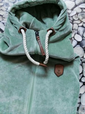 Naketano Veste sweat marron clair-gris vert
