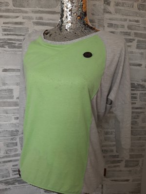 Orginal  Naketano Shirt,  grün/beige, Gr.S, Neuwetig!
