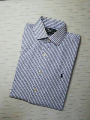 Orginal Ralph Lauren LS Hemd, blau/weiss, Gr 39/M, neuwertig!