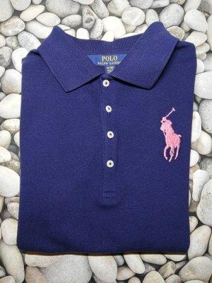 """Orginal Ralph Lauren Poloshirt & """"Big Pony"""", dkl. blau, Gr. 36/S"""