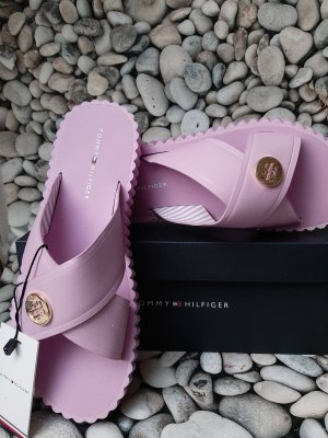 Tommy Hilfiger Beach Sandals gold-colored-pink