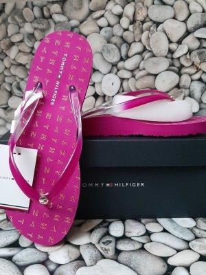 Orginal Tommy Hilfiger Flip Flops, pink, gr.39, Neu &Etikett!