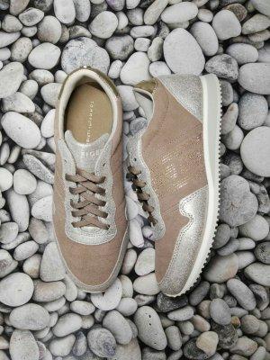 Orginal Tommy Hilfiger Sneaker, beige/gold, Gr. 38