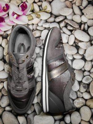 Orginal Tommy Hilfiger Sneaker, grau,& Wildleder, Gr. 40