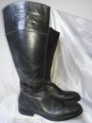 Orginal Tommy Hilfiger Stiefel aus Leder, braun, Gr. 39