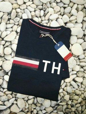 Orginal Tommy Hilfiger T Shirt, Blau, gr. XL, Neu mir Etikett!