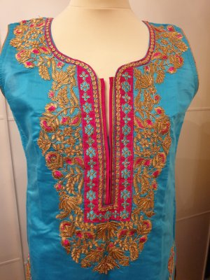 Tunic multicolored
