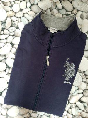 U.s. polo assn. Sweat Jacket light grey-steel blue