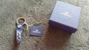 Swarovski Key Chain blue