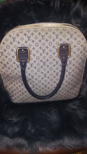 Louis Vuitton Bolso negro-gris