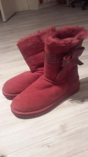 orginale, ungetragene pinke Ugg boots