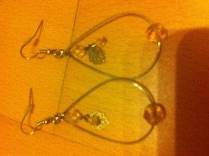 Orientalische Ohrringe mit feinen Details
