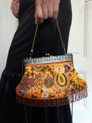Orientalische Tasche mit Pailletten