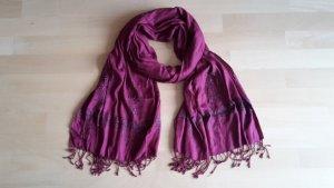 Orientalischer Schal mit Perlen