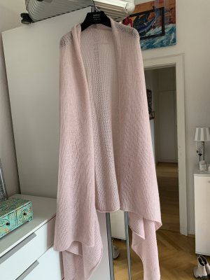 Orig 360 Cashmere Schal Poncho rosa jades ftc Kaschmir Tuch 299€