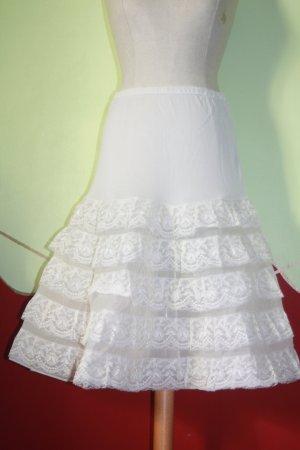 orig. 50er Petticoat weiß 36 Vintage