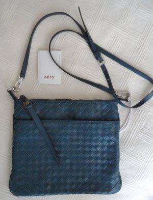 abro Crossbody bag petrol imitation leather