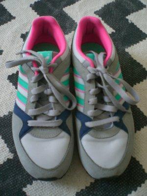 Orig. Adidas ZX100 Sneaker Turnschuhe 38 2/3 Pink Grau