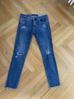 Adriano Goldschmied Jeans skinny verde-blu