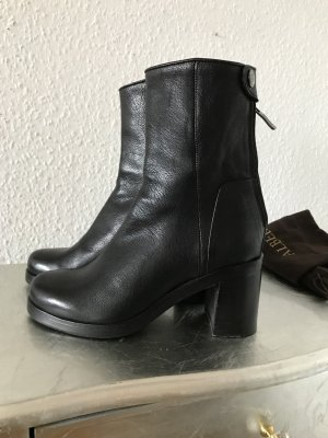 Bottines à plateforme noir