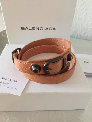Orig. Balenciaga Armband Wickelarmband Classic Tripple Leder Tasche YSL wNEU