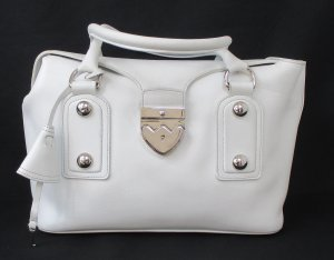 Bally Carry Bag white leather