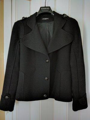 Balmain Veste en laine noir cachemire