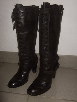 Belstaff Heel Boots black leather