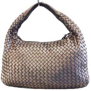 Bottega Veneta Sac porté épaule bronze cuir