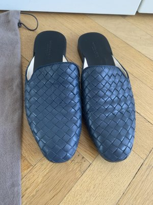 Orig BOTTEGA VENETA Mules Slipper 36/37 wNeu blau 590€ Loafer