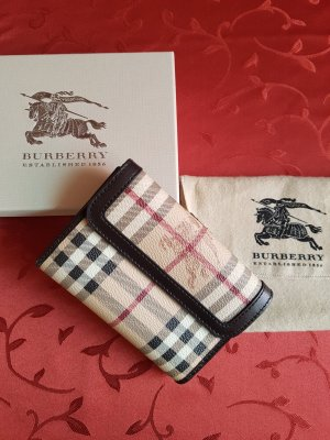Orig. BURBERRY Brieftasche / Haymarket- Design!