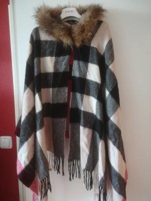 Burberry Bufanda de lana gris-beige