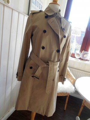 orig. Burberry Kensington Heritage Trenchcoat Mittellang Gr. 40 Honiggelb