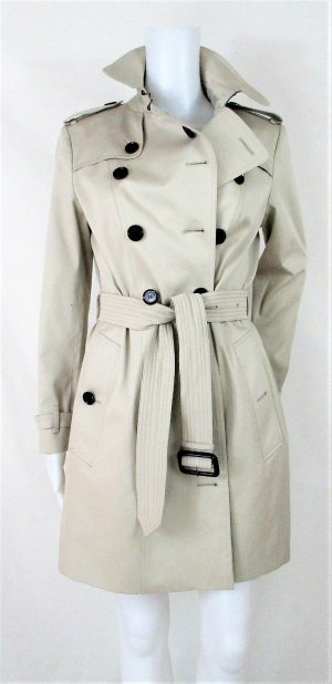"Orig. Burberry ""Queensbury'""Trenchcoat/Slim Fit/Steingrau/Gr.10 UK/38 EU/Baumwolle-Elasthan/Sold out! wie NEU!"