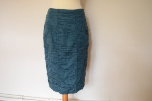 Orig. BURBERRY Rock IT46 D 40 petrol Bleistift Rock Pencil Skirt