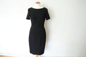 Orig. BURBERRY Traum Kleid mit Knopfleiste knielang schwarz