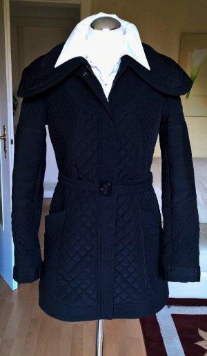 Orig Burberry Übergangs-Jacke Mantel Gr.36 UK8 schwarz Trenchcoat