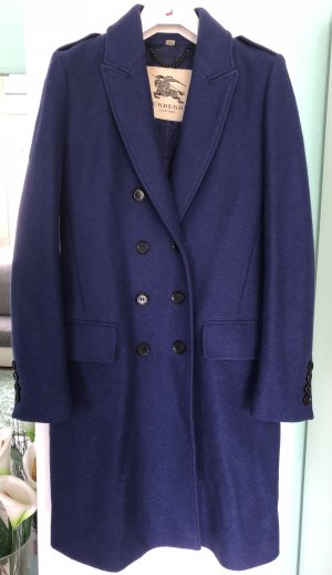 Orig. Burberry Wollmantel Gr. 36 S blau NP 1.250€