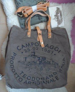 orig. Campomaggi Tasche C1262 TEVL Militare Naturale NEU