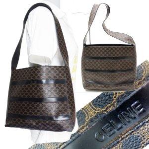 ORIG. CELINE MACADAM Schultertasche Handtasche / GUTER ZUSTAND