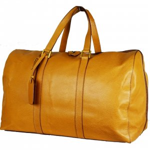 Celine Sports Bag light brown leather