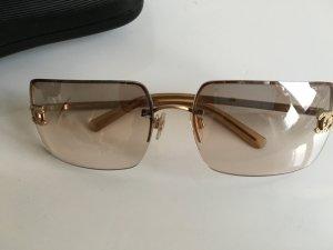 Orig. Chanel CC Logo Sonnenbrille Brille mit Swarovski Steinen mit Case