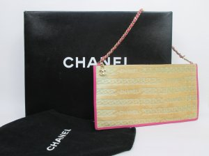 Orig. Chanel Clutch/Collectors piece!/Fell & Leder/wie NEU!