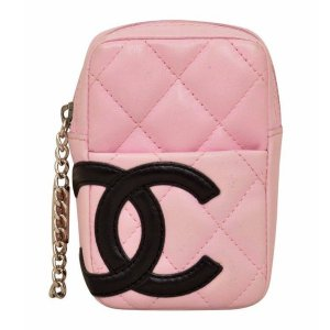 Chanel Pochette rose cuir