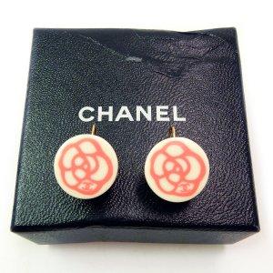 Chanel Dangle white-bright red