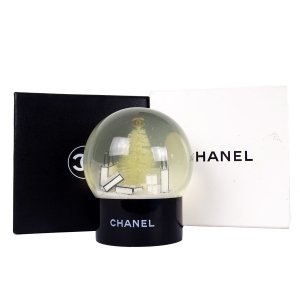 ORIG. CHANEL VIP SCHNEEKUGEL SNOW DOME - VIPs ONLY / GUTER ZUSTAND & OVP